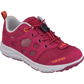 Viking Footwear Saratoga Air Shoes Junior Fuchsia/Orange